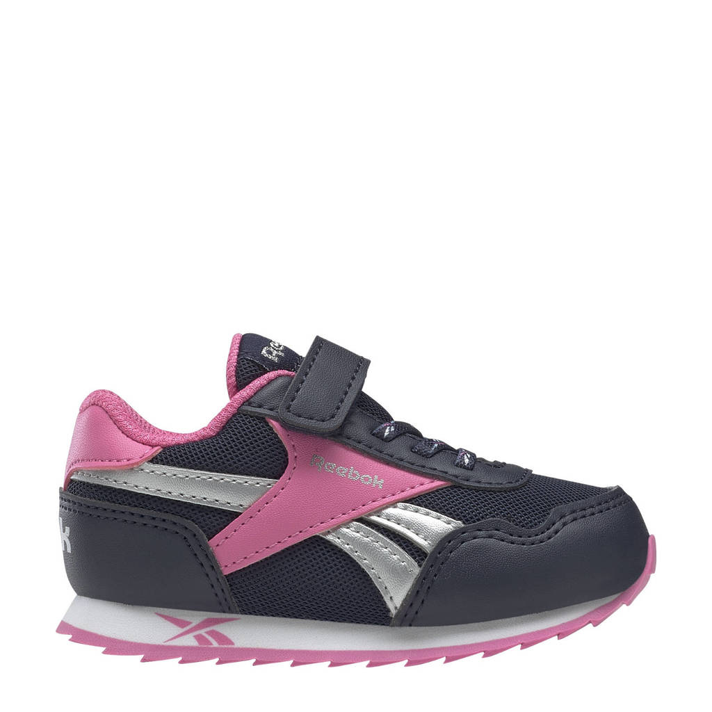 Reebok Classics Royal Classic Jogger 3.0 sneakers donkerblauw/roze/wit, Donkerblauw/roze/wit