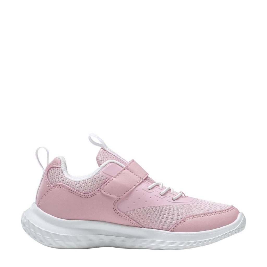 Reebok Training Rush Runner 4.0 sportschoenen roze/wit, Roze/wit