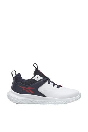 Rush Runner 4.0 Alt hardloopschoenen wit/donkerblauw/rood kids