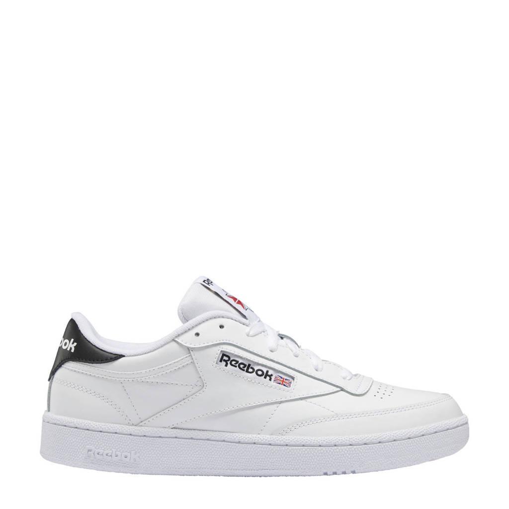 Reebok Classics Club C 85 sneakers wit/zwart, Wit/zwart