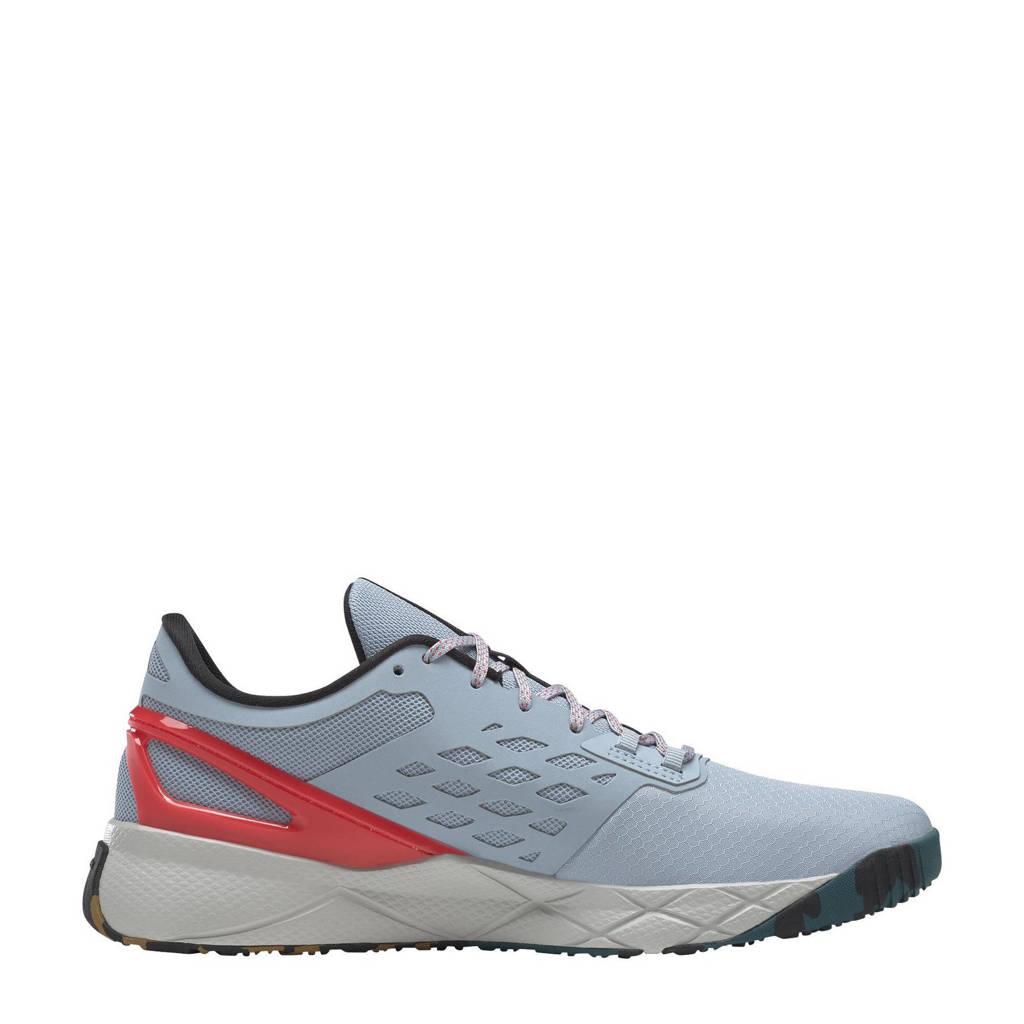 Reebok Training Nanoflex Training sportschoenen grijs/zwart/roze, Grijs/zwart/roze