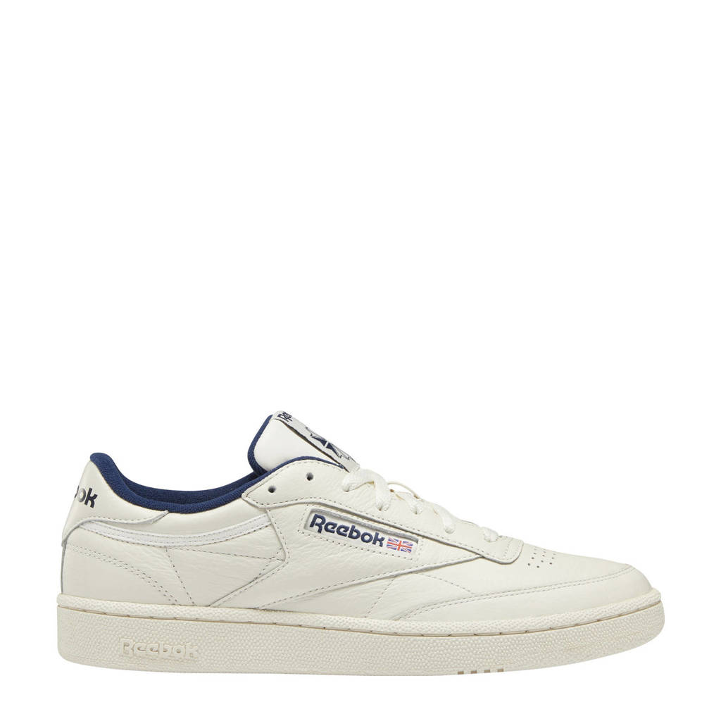 Reebok Classics Club C 85 sneakers beige/ecru/donkerblauw