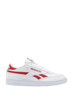 Club C Revenge sneakers wit/rood/wit