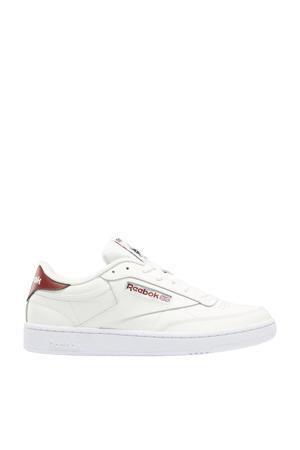 Club C 85 sneakers beige/roodbruin