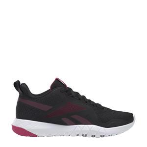 Flexagon Force 3,0 sportschoenen zwart/bruin/roze