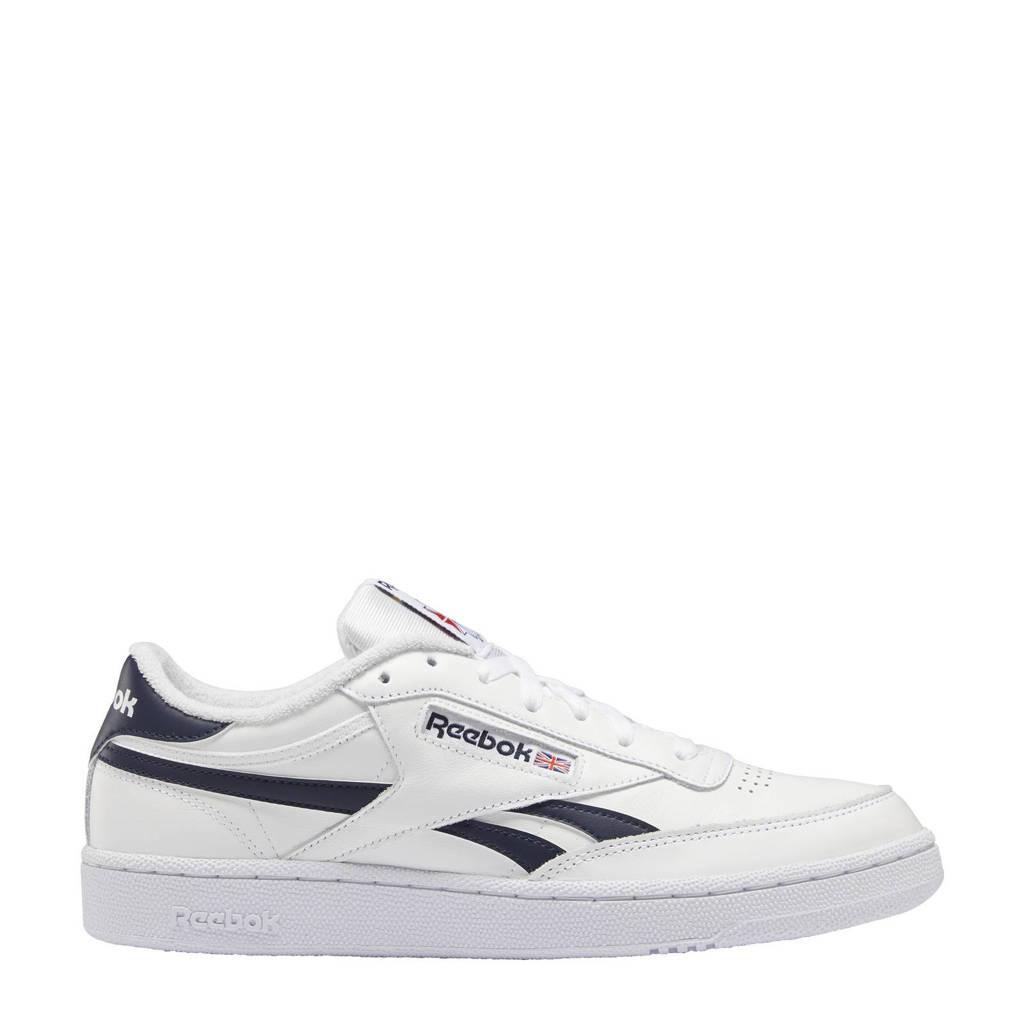 Reebok Classics Club C Revenge sneakers wit/donkerblauw/wit, Wit/donkerblauw/wit