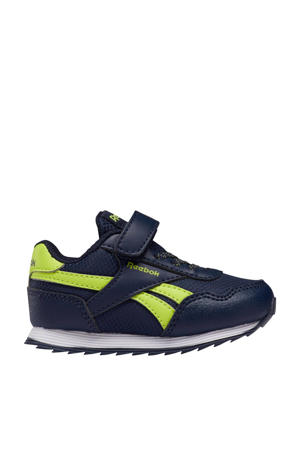 Royal Classic Jogger 3 sneakers donkerblauw/geel