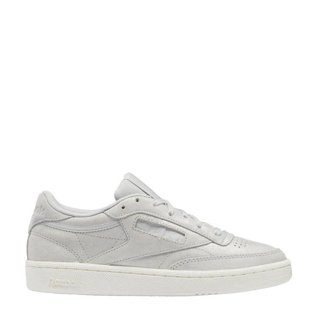 Reebok Classics Club C 85 sneakers grijs/mat zilver/beige