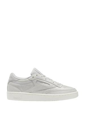 Club C 85 sneakers grijs/mat zilver/beige