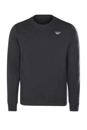fleece sweater zwart