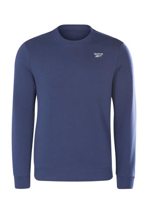 fleece sweater donkerblauw