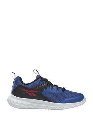 Rush Runner 4.0 TD sportschoenen kobaltblauw/zwart/rood jongens