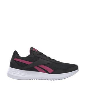 Energen Lite hardloopschoenen zwart/wit/roze