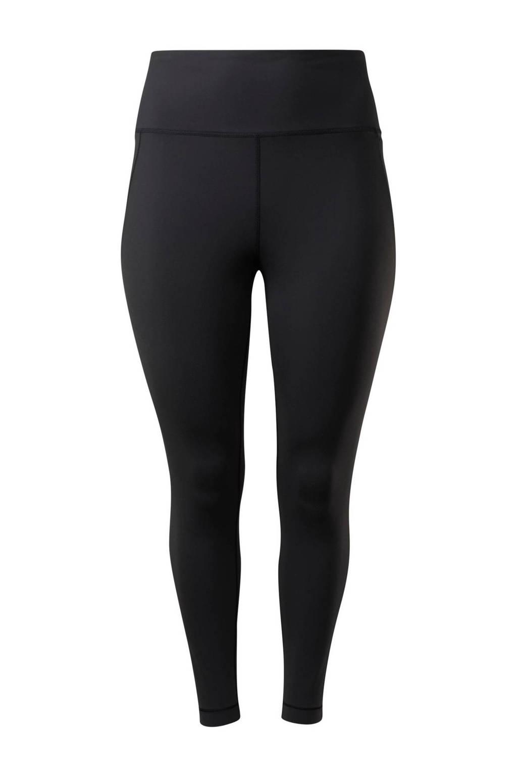 Reebok Training Plus Size sportlegging zwart, Zwart