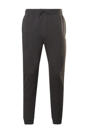 fleece joggingbroek zwart