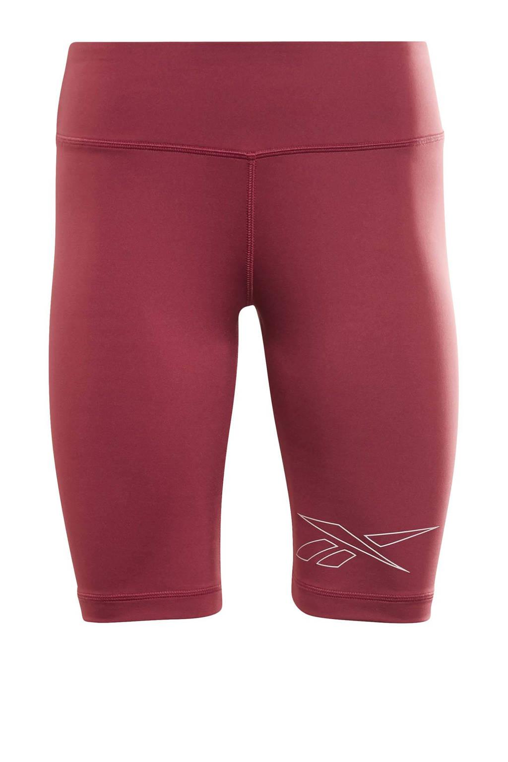 Reebok Training sportshort rood, Rood