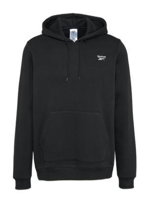 fleece hoodie zwart