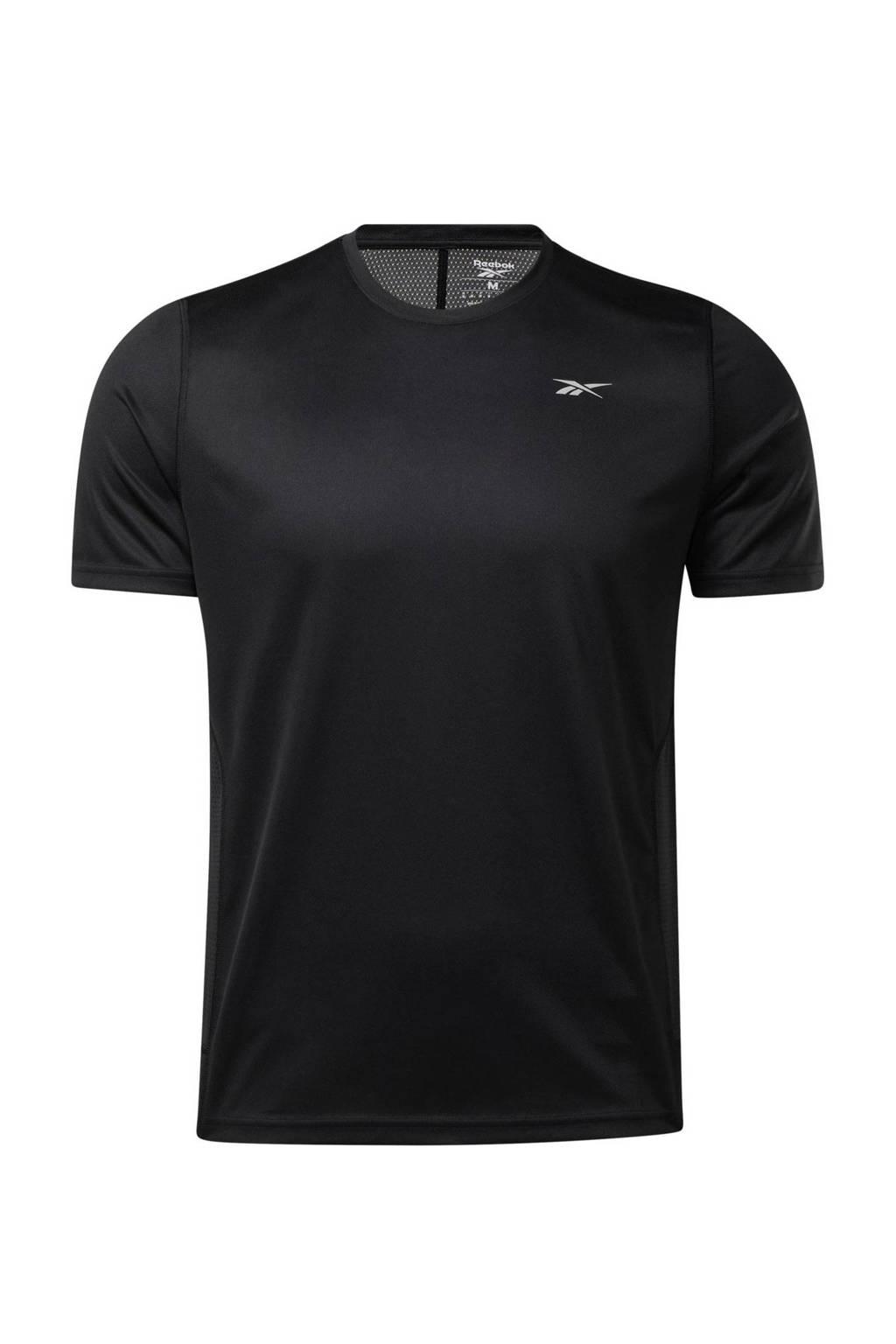 Reebok Training   hardloopshirt zwart, Zwart