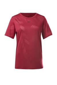Reebok Training sport T-shirt fuchsia, Fuchsia