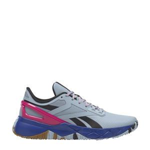 Nanoflex Training sportschoenen lichtgrijs/zwart/roze