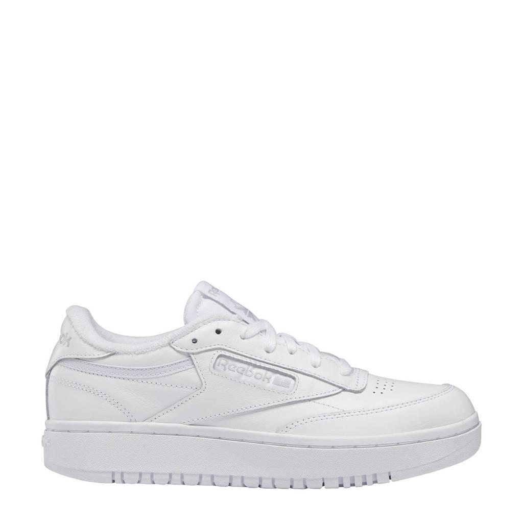 Reebok Classics Club C Double sneakers wit/lichtgrijs, Wit/lichtgrijs