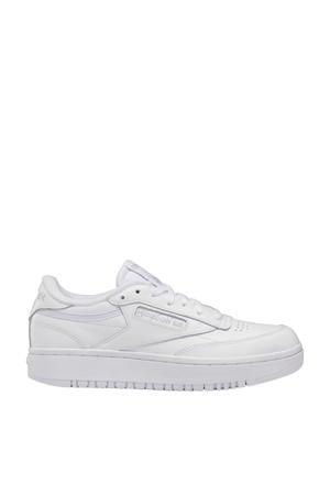 Club C Double sneakers wit/lichtgrijs