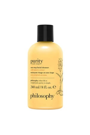 philosophy purity made simple limited edition 3-in-1 cleanser with turmeric