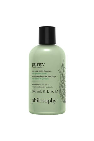 philosophy purity made simple limited edition 3-in-1 cleanser with spirulina