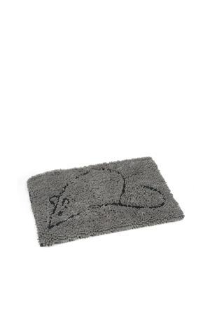 droogloopmat Dirty Cat grijs 60x40 cm