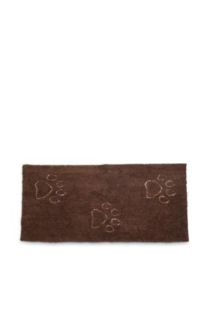 droogmat loper Dirty Dog bruin 152x76 cm