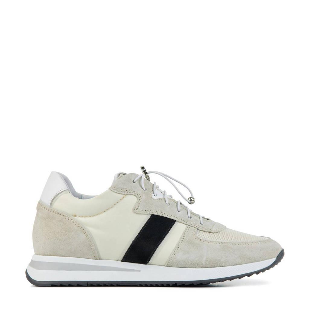 Via Vai 5602018  suède sneakers beige/zwart, Beige/zwart