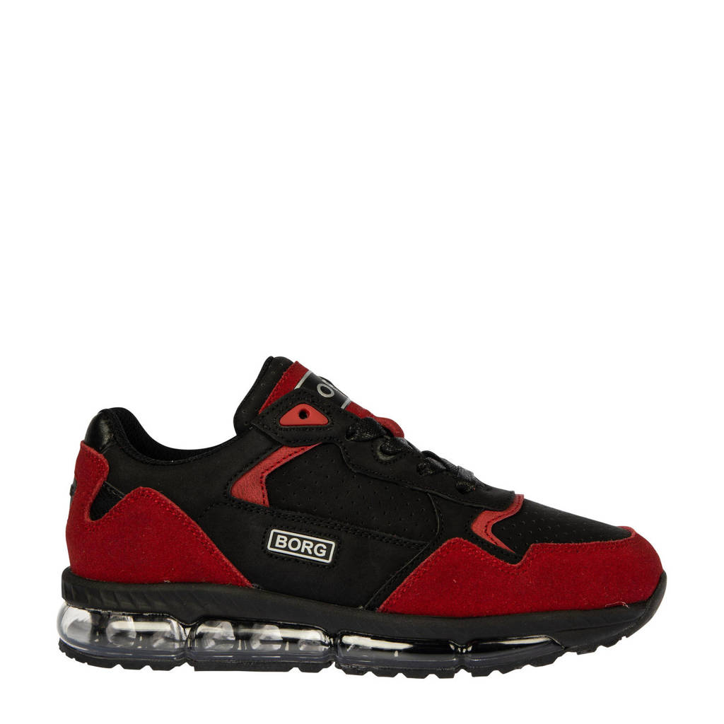 Björn Borg X500 PRF BLK K  sneakers rood/zwart, Rood/zwart