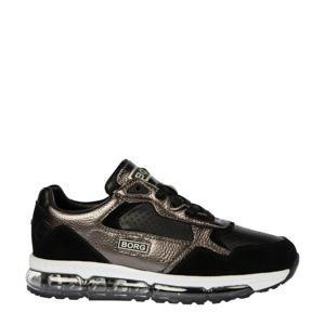 X500 MET T  sneakers zwart/metallic
