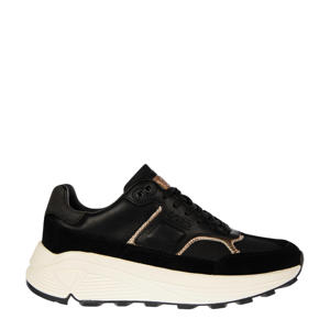 R1300 NYL MET W  sneakers zwart/roségoud