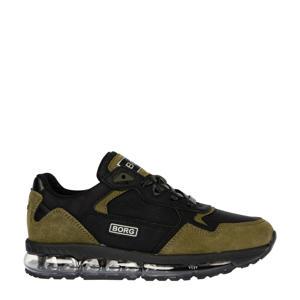 X500 PRF BLK K  sneakers zwart/olijfgroen