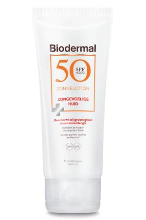 Zonnelotion gevoelige huid - SPF 50 - 100 ml