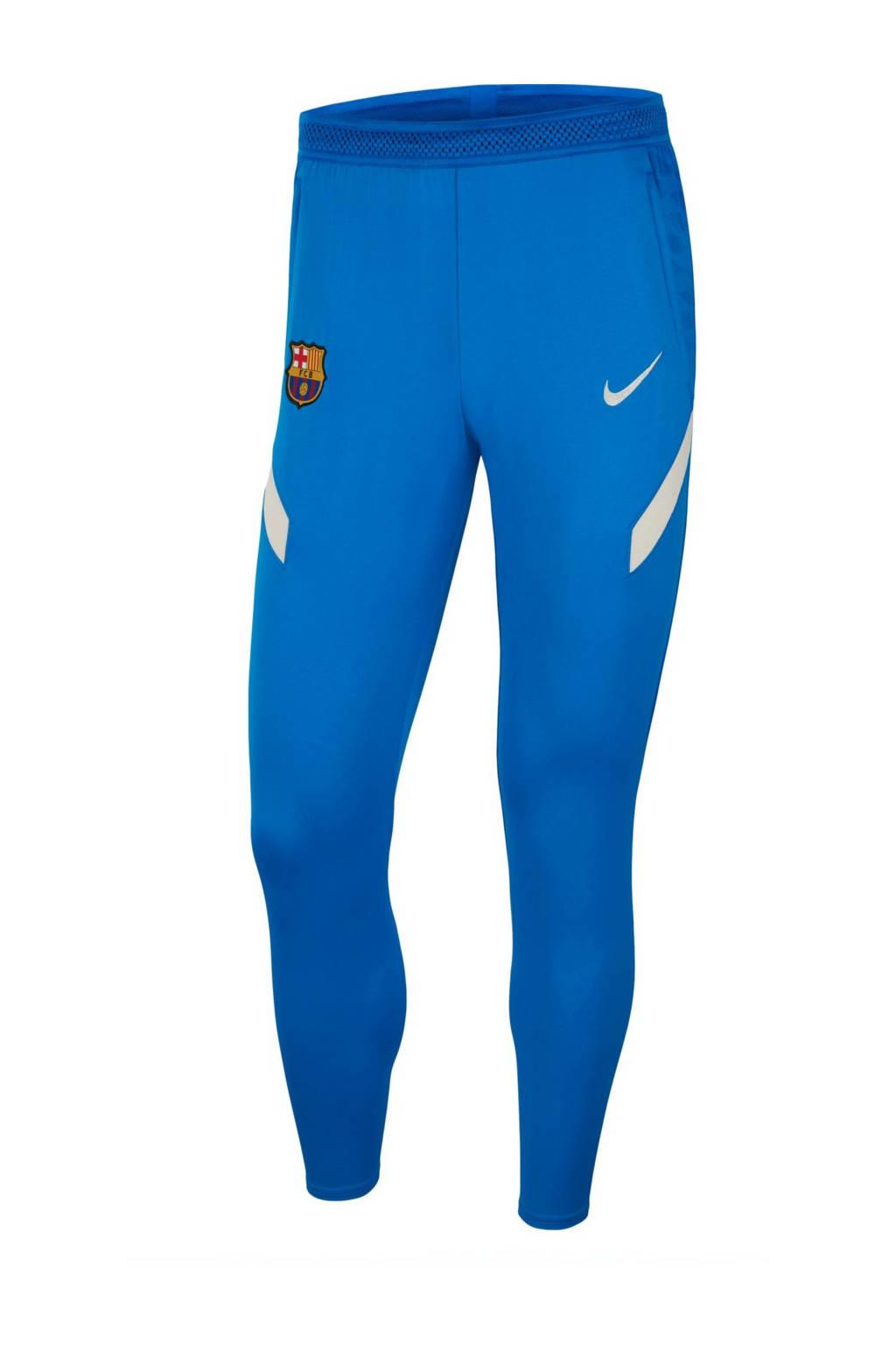 Nike Senior FC Barcelona voetbalbroek kobaltblauw, Kobaltblauw