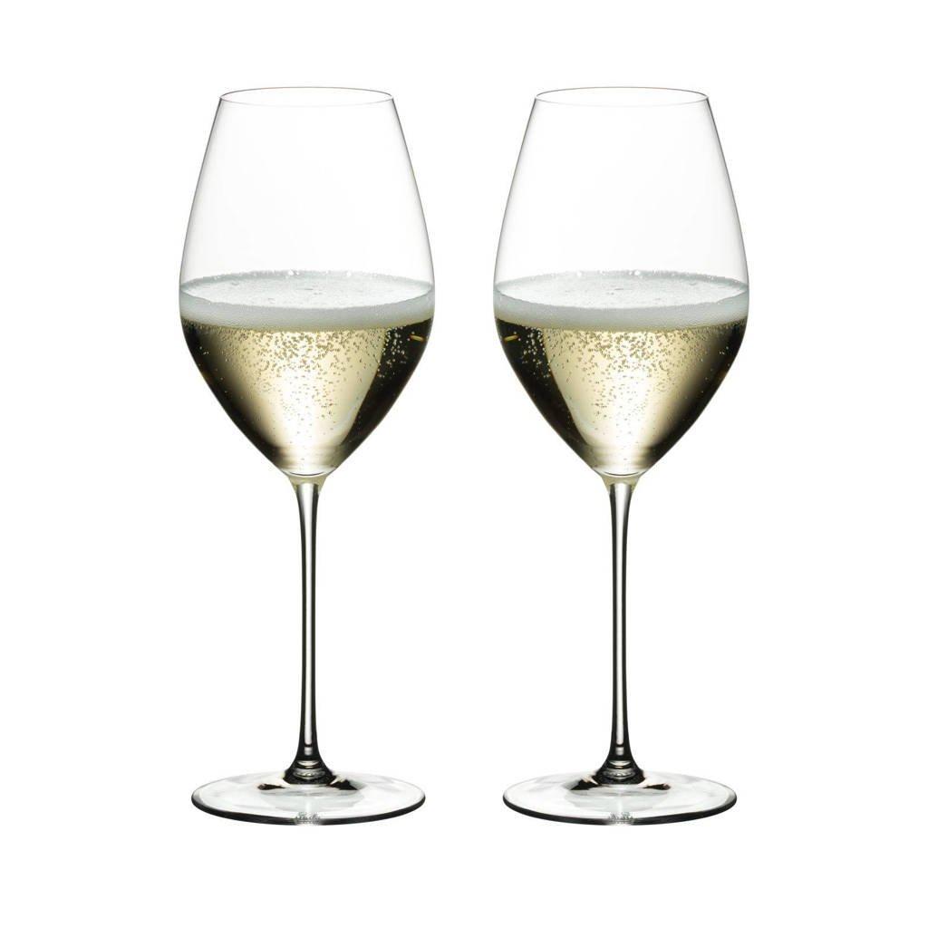 Riedel champagneglazen (set van 2), Transparant