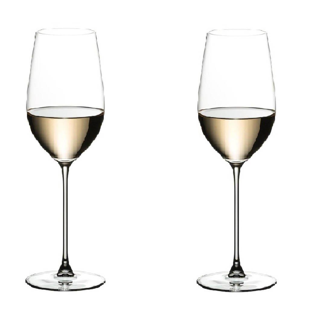 Riedel Riesling wijnglas Veritas (set van 2), Transparant