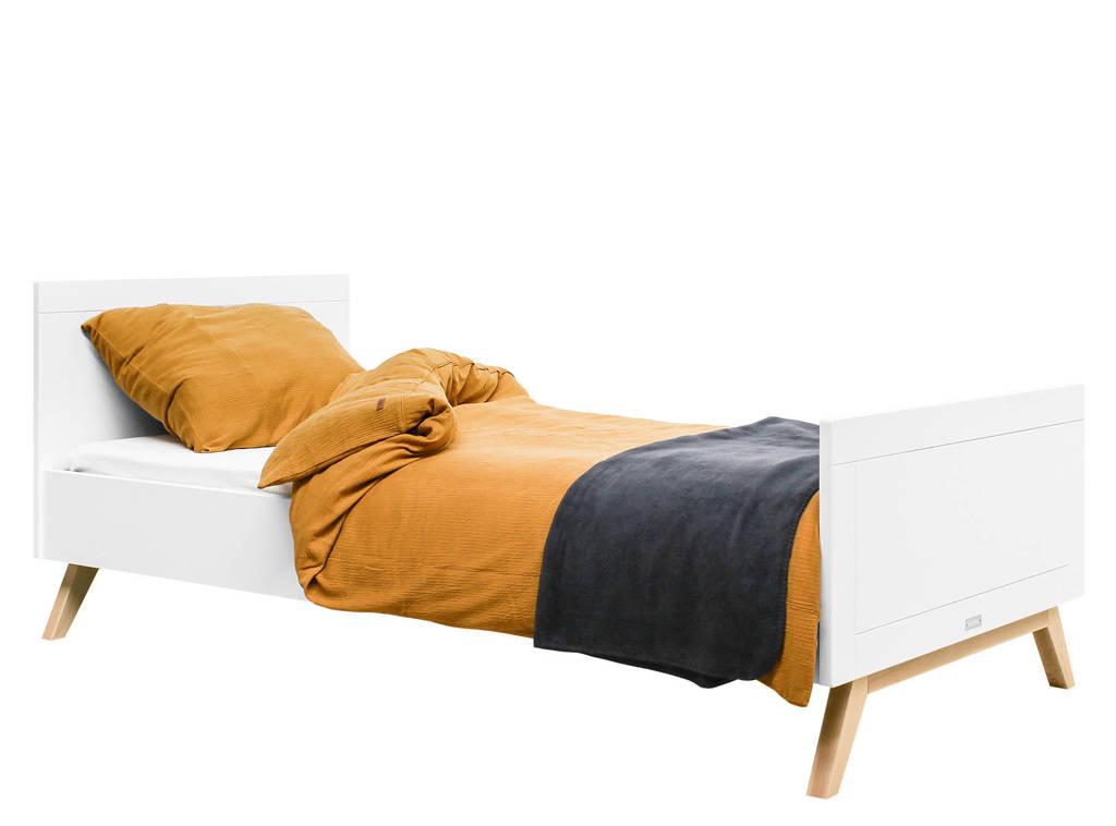 Bopita bed Wit/Naturel Fenna (90x200 cm), Wit/naturel