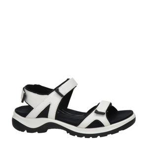 Offroad  leren outdoor sandalen wit