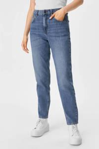 C&A high waist mom jeans blauw, Blauw