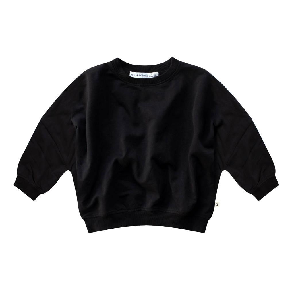 Your Wishes sweater Nio zwart, Zwart