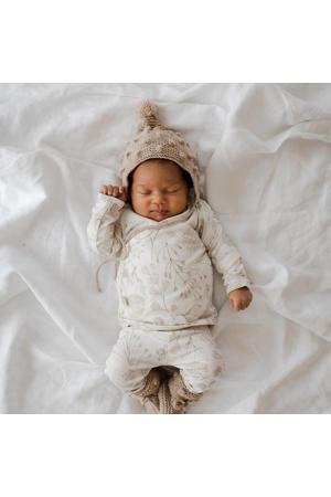 newborn longsleeve Fairytale off white/beige