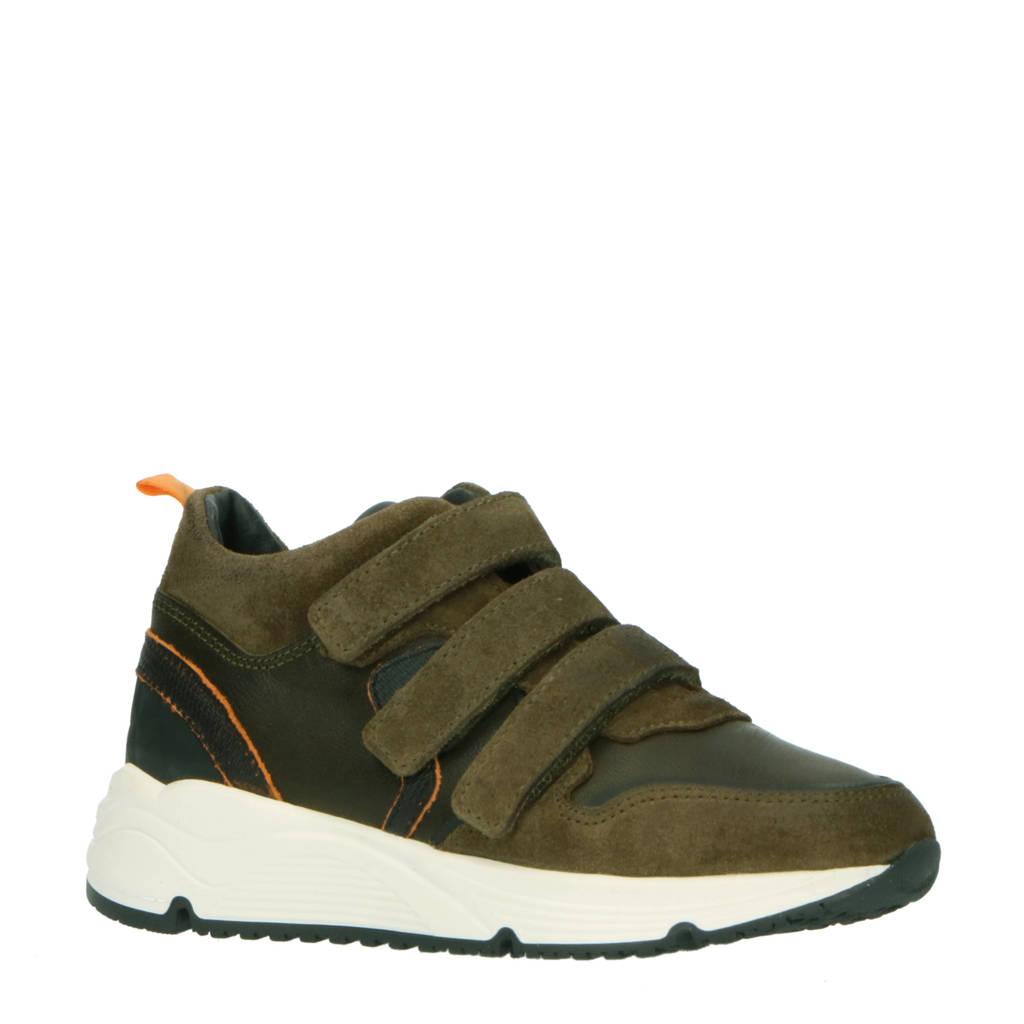 Hip H1497  suède sneakers olijfgroen, Olijfgroen