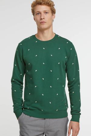sweater Honeycomb met all over print 493 - june bug