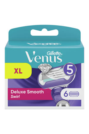 Venus Deluxe Smooth Swirl navulmesjes - 6 stuks