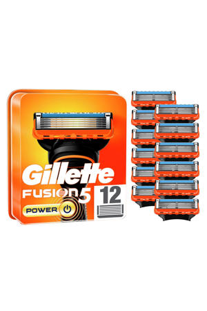 Gillette Fusion5 Power Scheermesjes - 12 Navulmesjes