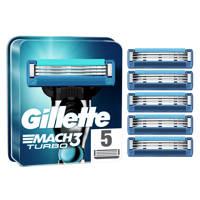 Gillette Gillette Mach3 Turbo Scheermesjes - 5 Navulmesjes