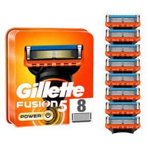 Gillette Fusion5 Power Scheermesjes - 8 Navulmesjes